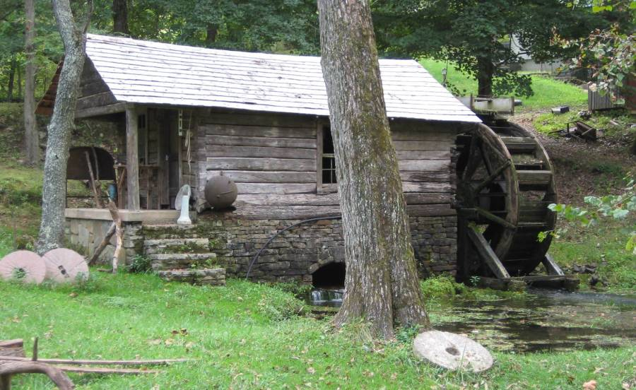 Wheel Mill to The Mill Water Wheel