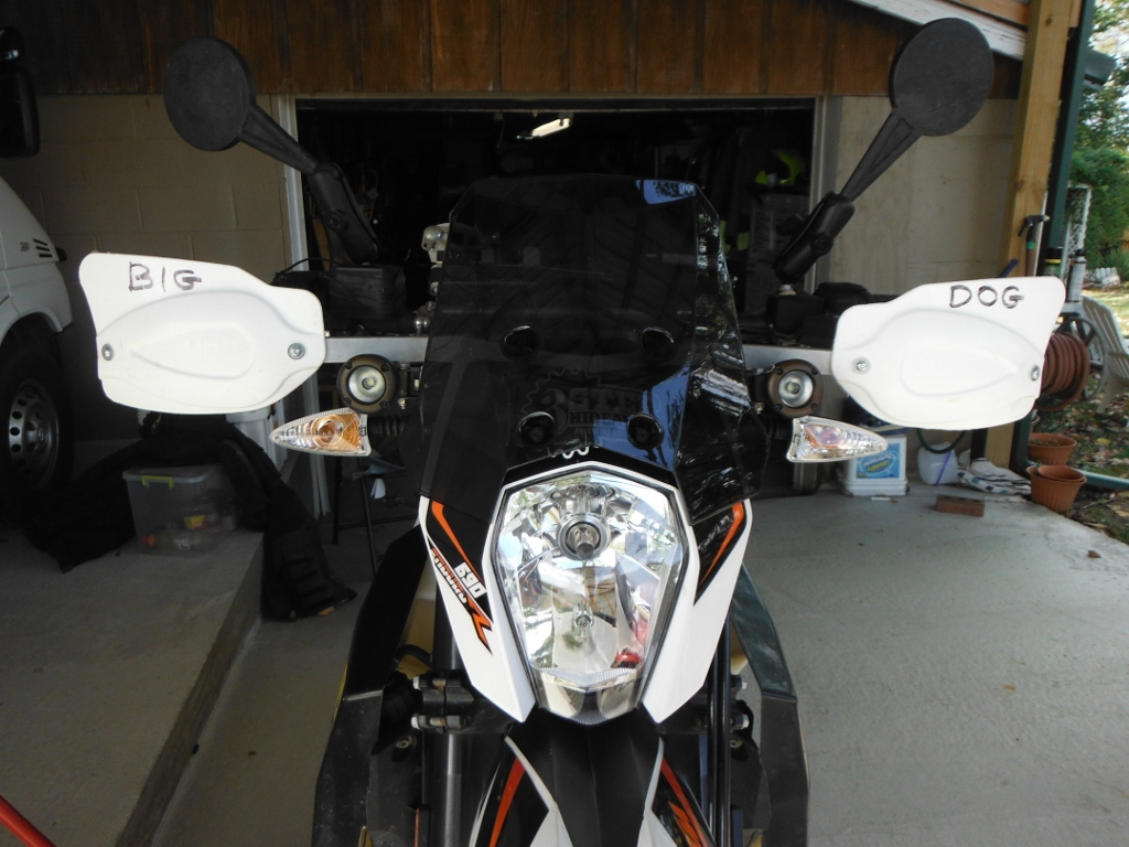 2014 Ktm 690 525 Fuse Box Installed Touring Windshield Took About 20 Minutes I Think 60 From Twins