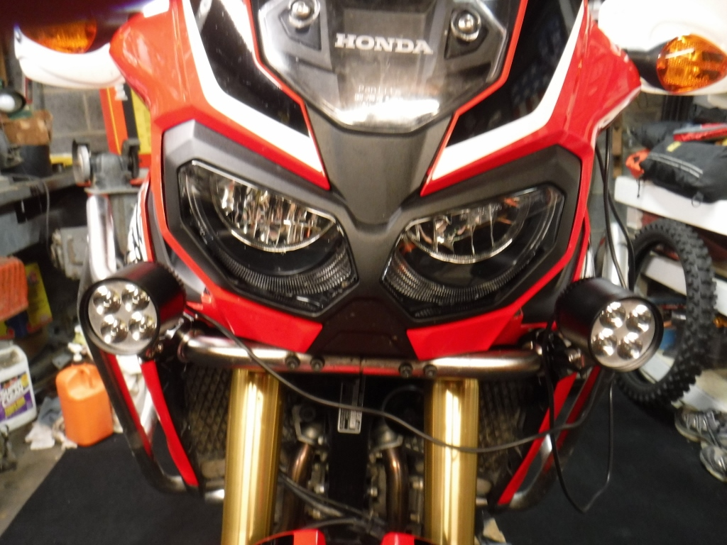 Africa Twin Big Dog Chopper Wiring Diagram Simple But Heres The Cool Part About This Installation I Also Purchased Dimmer Module You See Here With And Way Wired
