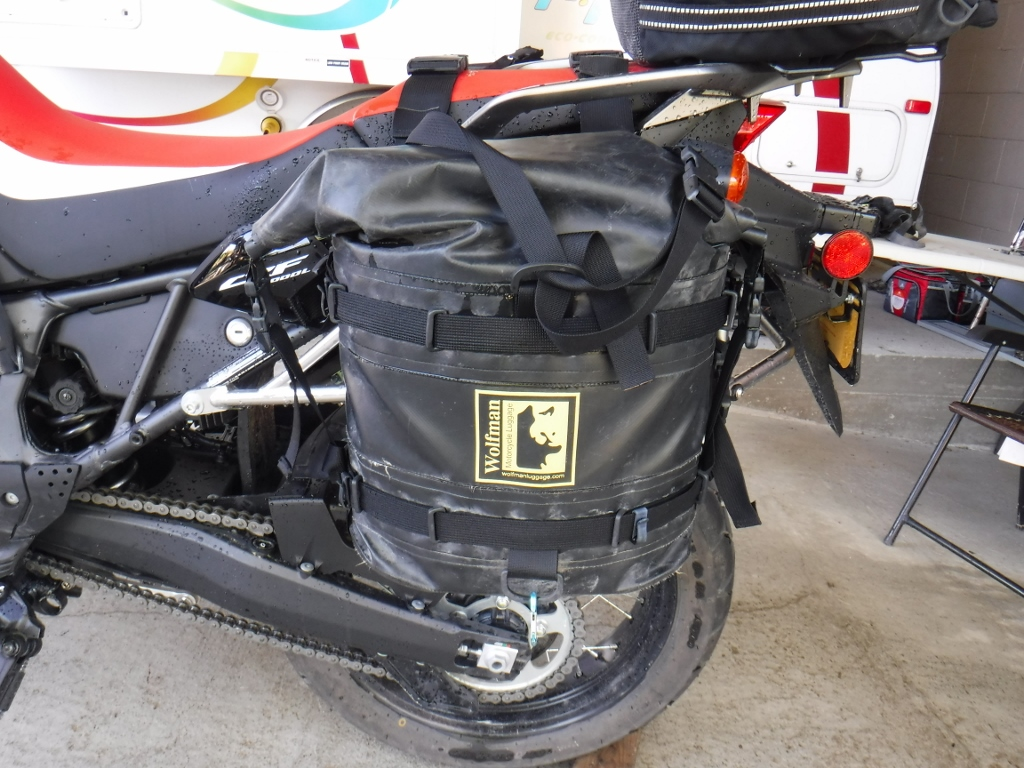Africa Twin Big Dog Chopper Wiring Diagram Simple Here Are My Rocky Mountains Bags Quite A Bit Bigger Still Dirty From Cross Country Run On Husqvarna Last Year